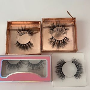 Pack of 4 sample lashes
